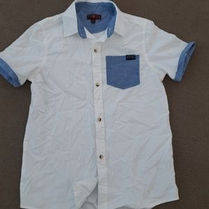 Boys Seven For All Mankind button down shirt